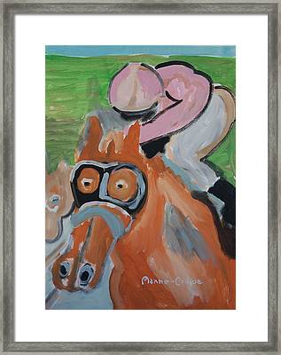 Derby Framed Print by Jay Manne-Crusoe