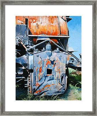Derelict Framed Print