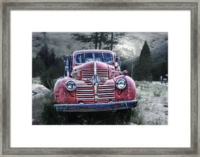Derelict Dodge Framed Print