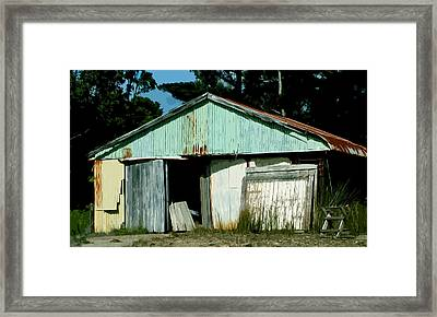 Derilict Building Framed Print by Phill Petrovic