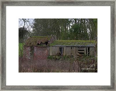 Deriliction Again Framed Print by David  Hollingworth
