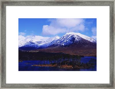 Derryclare Lough, Twelve Bens Framed Print by The Irish Image Collection