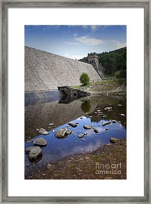 Derwent Dam Framed Print by Martin Jones