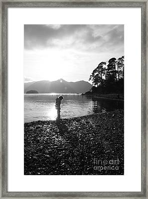 Framed Print featuring the photograph Derwent by Linsey Williams