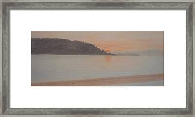 Des Moines Marina 2 Of 3 Framed Print