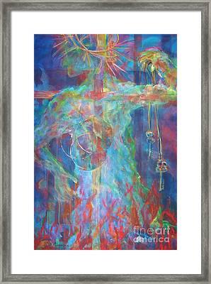 Descended Framed Print by Deb Magelssen