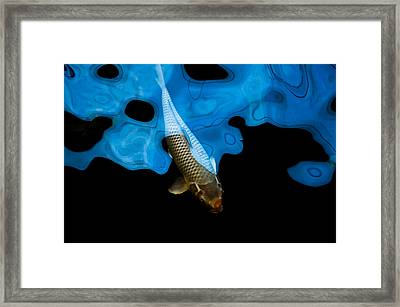 Descent From The Cloud Framed Print