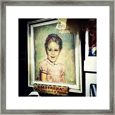 Desdemona: The Devil Girl Of Phoenicia Framed Print