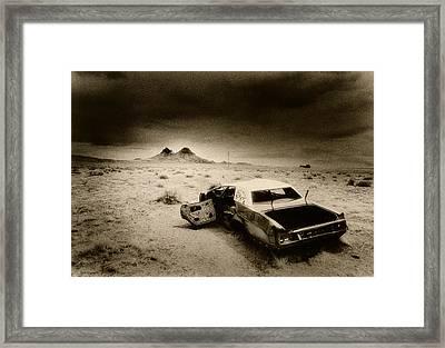 Desert Arizona Usa Framed Print by Simon Marsden