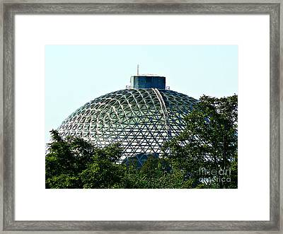 Desert Dome Framed Print by Lin Haring