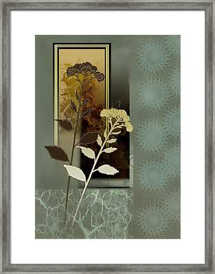 Desert Flowers Framed Print by Regina Femrite