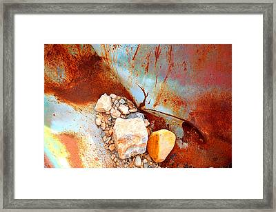 desert still life II Framed Print by Diane montana Jansson