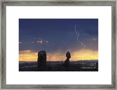 Desert Storm - Fs000484 Framed Print by Daniel Dempster