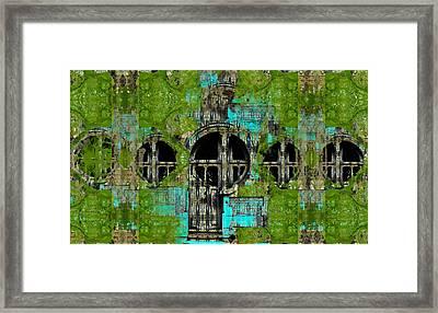 Deserted Laboratory Framed Print