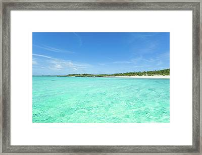 Deserted Tropical Island Framed Print by Ippei Naoi