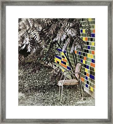 Design On A Dime Framed Print by Gwyn Newcombe