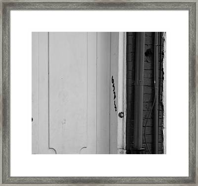 Desire Framed Print by Christopher McPhail