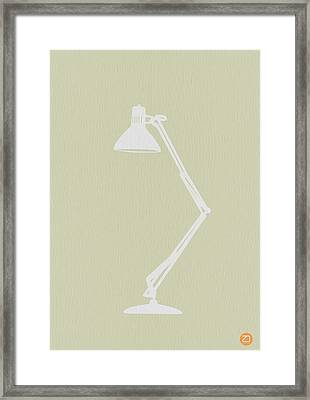 Desk Lamp Framed Print