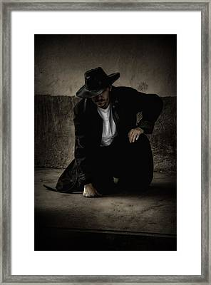 Desperado Framed Print by Heather  Rivet
