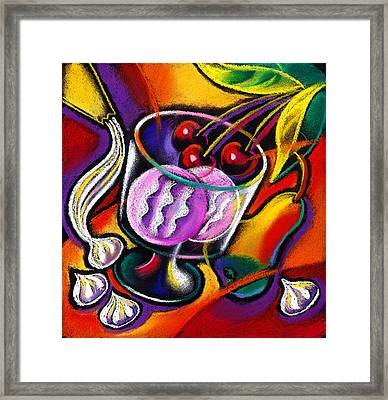 Dessert Framed Print by Leon Zernitsky