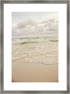 Destin Beach Framed Print by Tiffany Zumbrun