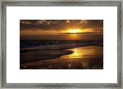 Destin Sunset  Framed Print