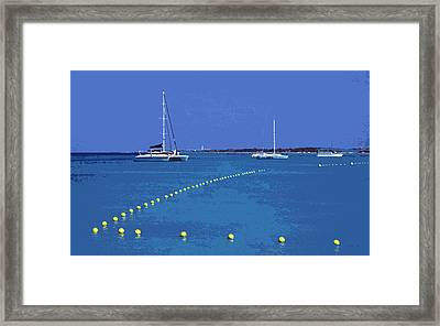 Destination Aua ... Framed Print by Juergen Weiss
