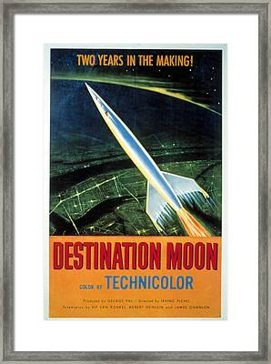 Destination Moon, 1950 Framed Print