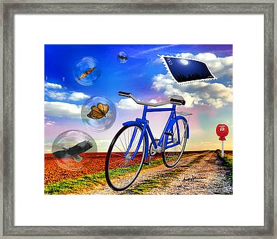 Destination Unknown Framed Print by Anthony Caruso