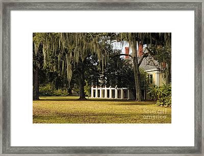 Destrehan Plantation Framed Print by Kathleen K Parker
