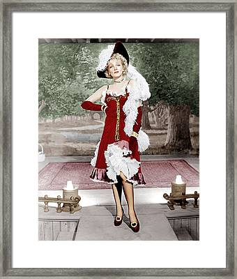 Destry Rides Again, Marlene Dietrich Framed Print