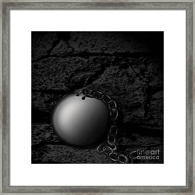Detached Framed Print by Joe Russell