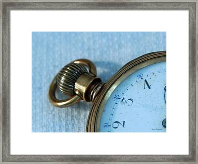 Framed Print featuring the photograph Details Of Time 1 by Kay Lovingood