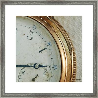 Framed Print featuring the photograph Details Of Time 2 by Kay Lovingood