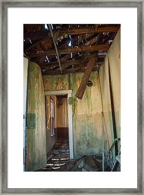 Framed Print featuring the photograph Deterioration by Fran Riley