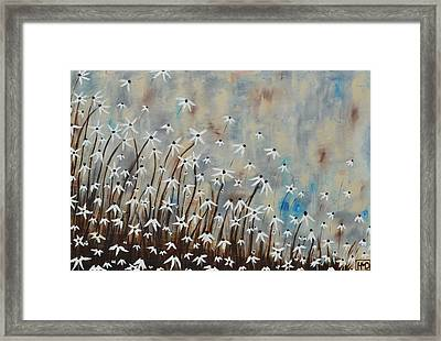 Determination Framed Print by Holly Donohoe