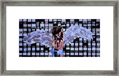 dEUS ex Machina Framed Print by Roberto Macedo Alves
