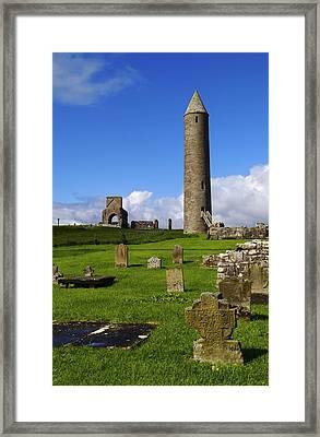 Devenish Monastic Site, Co. Fermanagh Framed Print