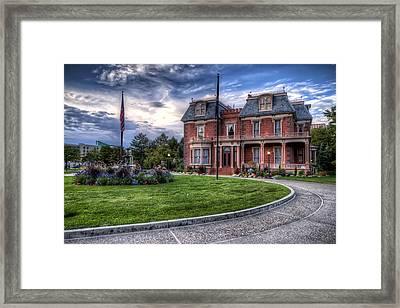Devereaux Mansion Framed Print