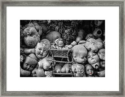 Devil Dolls Framed Print by Michael Avory