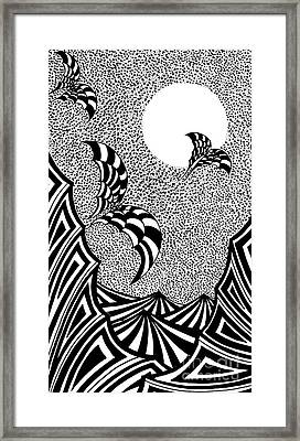 Devil Night Framed Print by Yury Bashkin