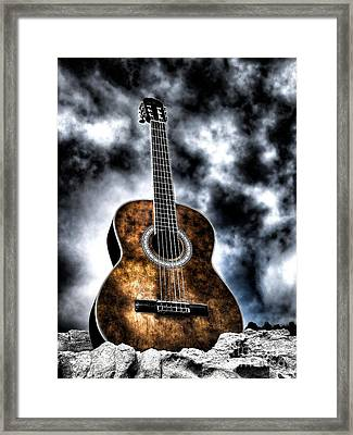 Devils Acoustic Framed Print by Jason Abando