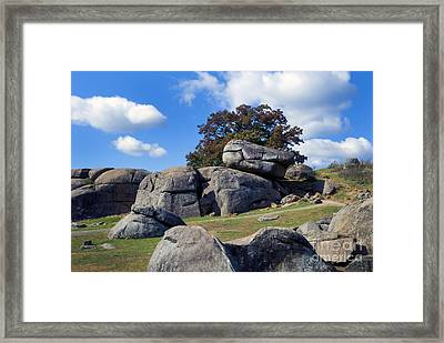 Devil's Den Formation 25 Framed Print by Paul W Faust -  Impressions of Light