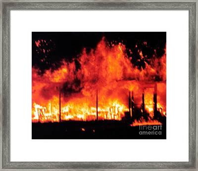 Devils Diner - Digital Art Framed Print by Al Powell Photography USA