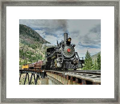 Devils Gate Trestle Framed Print