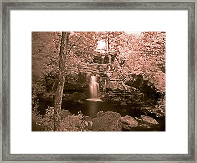 Framed Print featuring the photograph Devil's Hopyard by William Fields