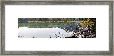 Devil's Lake Framed Print by Twenty Two North Photography