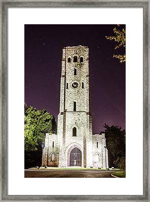 Devil's Tower Framed Print by Mauricio Fernandez