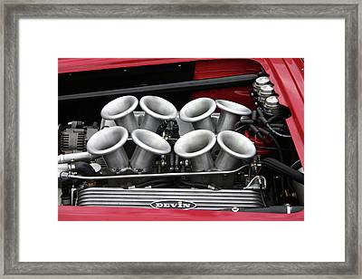 Devin Power Framed Print by Fred Russell