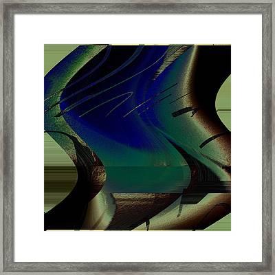 Devine Swirl Framed Print
